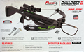 Parker Challenger II Crossbow w/Illuminated Scope