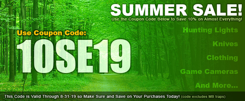 Southereastern Outdoor Supplies - Coupon Code